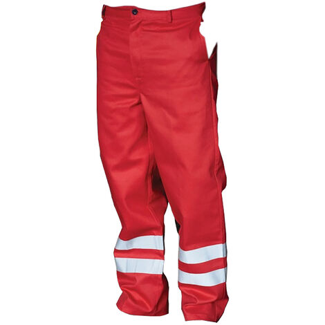Yoko Mens Hi Vis Reflective Working Trousers