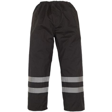 Yoko Mens Hi-Vis Waterproof Contractor Over Trousers