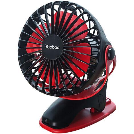 Yoobao F04 Ventilateur USB ¨¤ petit ventilateur rechargeable domestique
