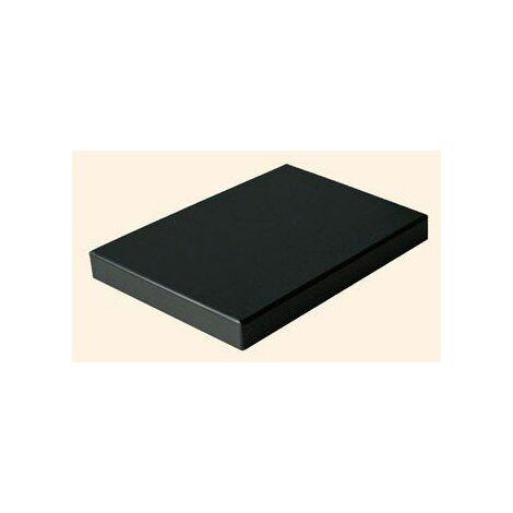 Yoocook YC90807 Billot Planche à Découper Noir 20 x 30 x 2 cm