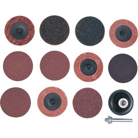York 50mm Q/c Surface Preparation Disc Kit 12PCE