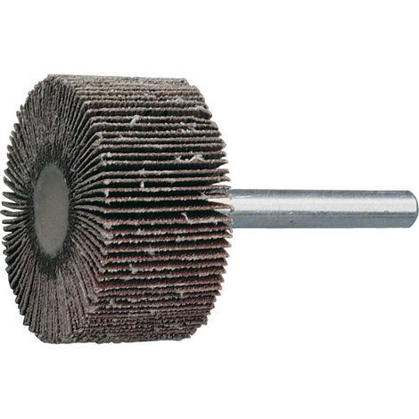 York Fächerschleifer Schaft Ø 6mm Aluminium Oxid P80 20mm x 40mm