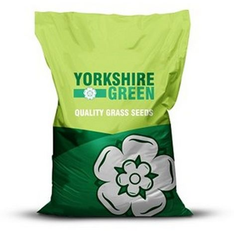 Yorkshire Green Low Maintenance Grass Seed Mixture (10kg) (May Vary)