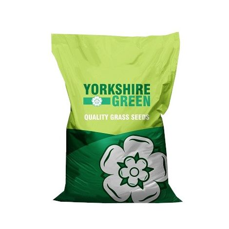 Yorkshire Green Prize Lawn Grass Seed Mixture (10kg) (Green)