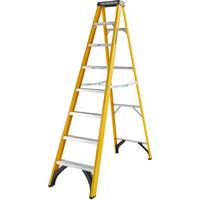 Youngman 527448 Catwalk S400 Fibreglass 8 Tread Swingback Steps 2.2m