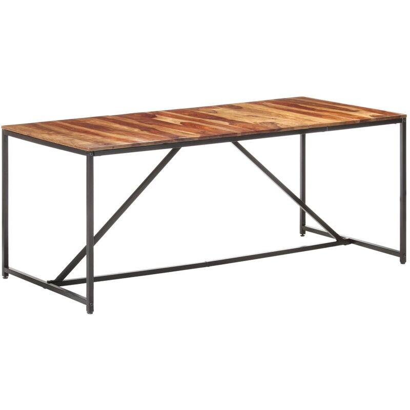 Esstisch 180×90×76 cm Massivholz - Youthup