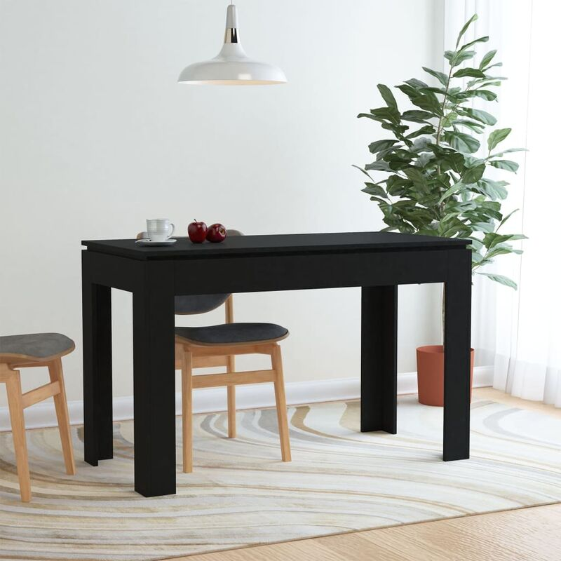 Esstisch Schwarz 120 x 60 x 76 cm Spanplatte - Youthup