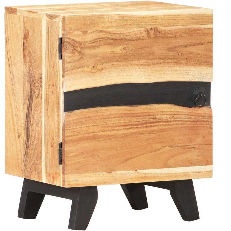 YOUTHUP Nachttisch 40x30x51 cm Akazie Massivholz