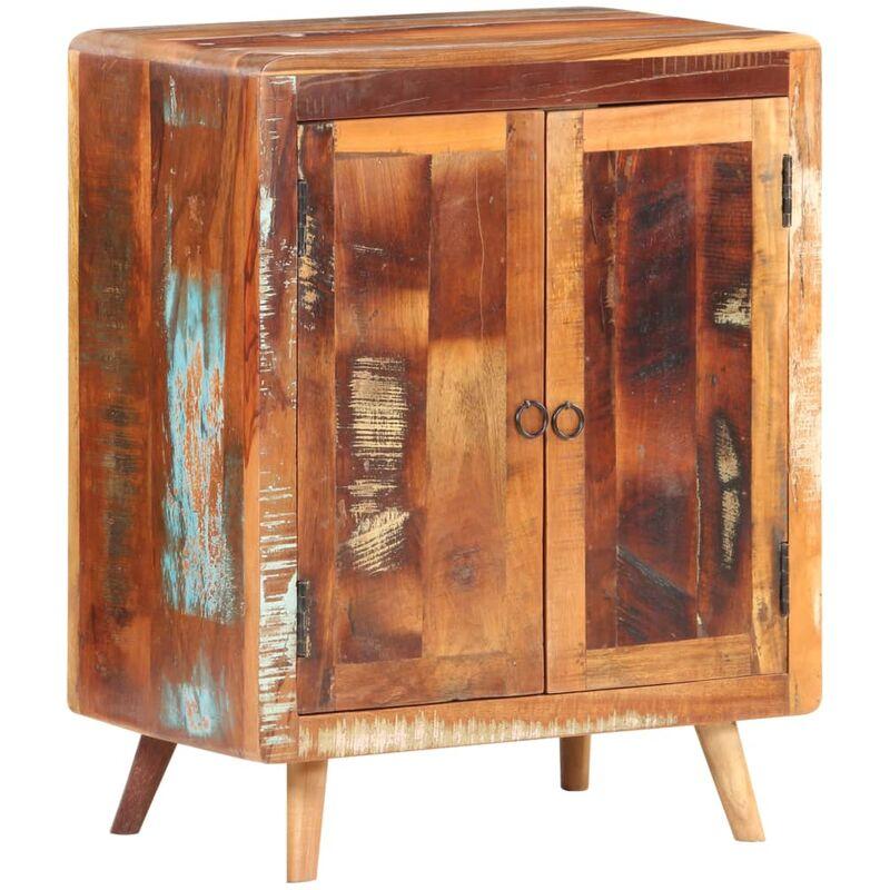 Sideboard 60x35x76 cm Recyceltes Massivholz - Youthup