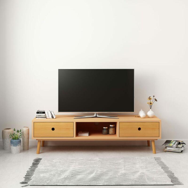 YOUTHUP TV-Schrank 120 x 35 x 35 cm Massivholz Kiefer