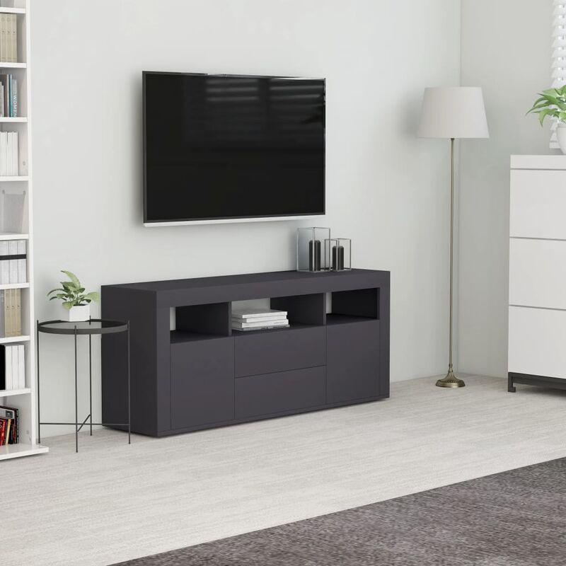 YOUTHUP TV-Schrank Grau 120x30x50 cm Spanplatte