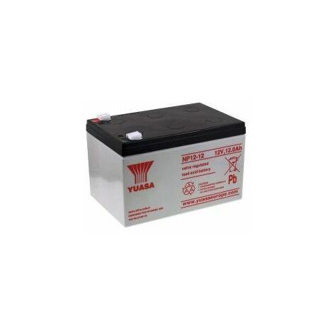 YUASA Batería de Plomo-ácido NP12-12 Vds