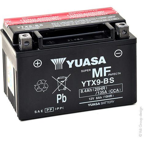 Yuasa - Batería moto YUASA YTX9-BS 12V 8Ah