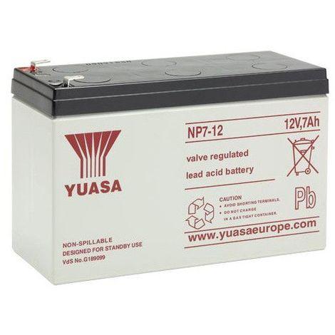 Yuasa - Batterie plomb AGM YUASA NP38-12I 12V 38Ah M5-F