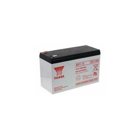 YUASA de Batería Plomo-ácido NP7-12 7Ah / 12V Vds