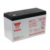 YUASA Recambio de Batería para SAI Equipos de limpieza 12V 7Ah