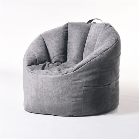 YuppieLife Adulto Niño Gran bolsa de frijoles Sillas Cubierta de sofá Tumbona perezosa de interior LAVENTE