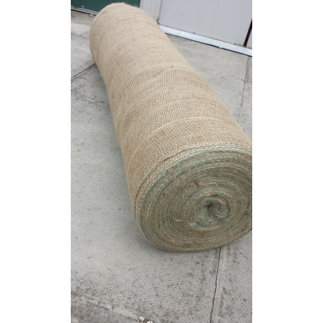 """Yuzet 1.37m/54"""" x 10m  200gsm Hessian Builders Roll  frost weather protection brickwork masonary"""