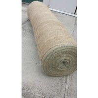 """Yuzet 1.37m/54"""" x 20m  200gsm Hessian Builders Roll  frost weather protection brickwork masonary"""