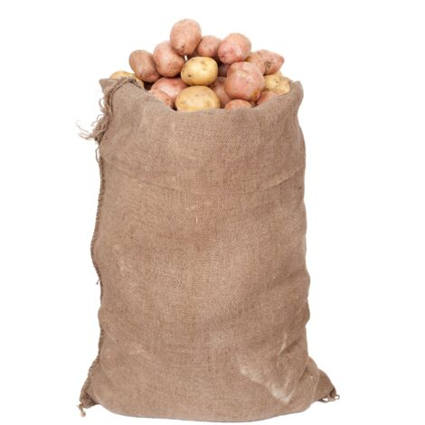 Yuzet 50kg Hessian Potato Sack Vegetable Coffee Bags Storage Traditional Jute