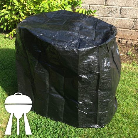 Yuzet Premium Kettle Barbecue Cover for Small garden BBQ's H68cm x D71cm