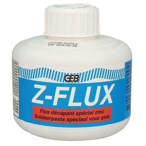 Z-FLUX : décapant liquide spécial Zinc, 250 ml