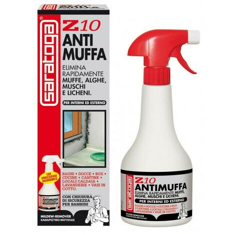 Saratoga - Mufficida antimuffa spray Z10 contro muffe alghe muschi licheni 1000m