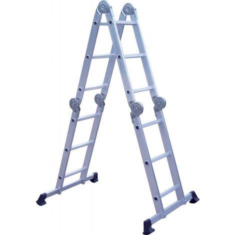 Z200 Escalera de múltiples aplicaciones 150 kg 4 x 3 peldaños