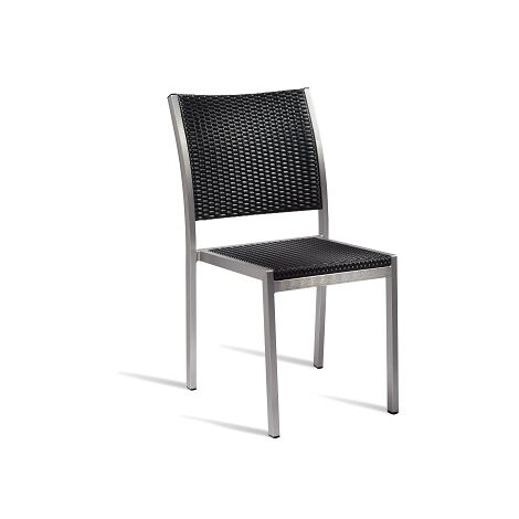 Zanidu Outdoor Aluminium Stackable Side Chair