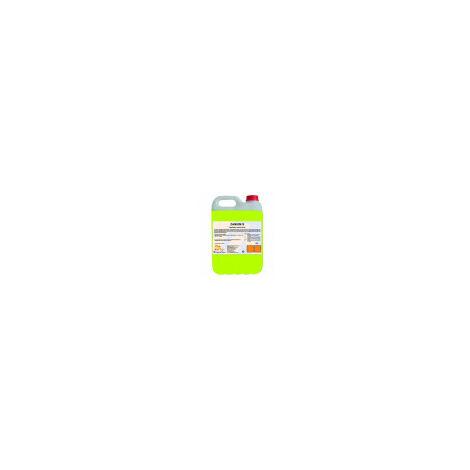 ZANIUM S (20 Lt): Fregasuelos Detergente Higienizante Multiusos para limpieza de todo tipo de suelos. Agradable y fresco perfume cítrico. Caja 4 Ud de 5 Lt/Ud
