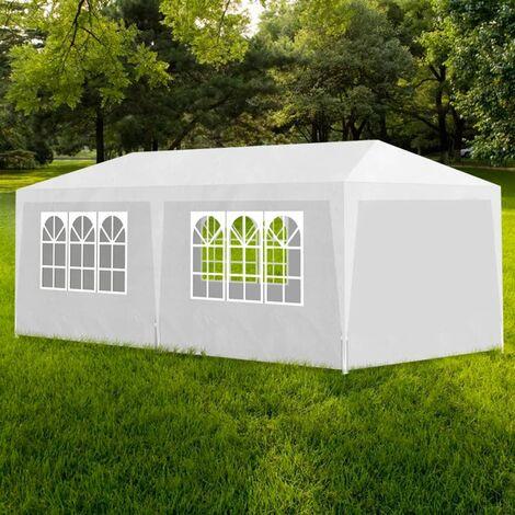 "main image of ""Zaniyah 3m x 6m Steel Party Tent by Dakota Fields - White"""