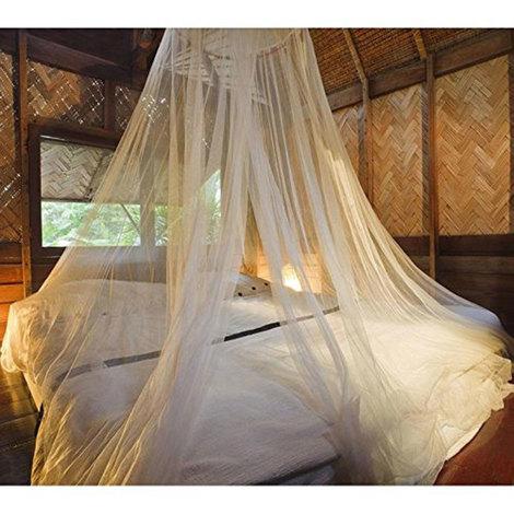 Zanzariera a baldacchino per letto matrimoniale singolo tenda ...