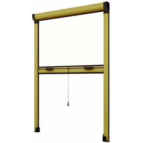 """Zanzariera a rullo """"Gold roll"""" per porte e finestre adattabile su misura in kit"""