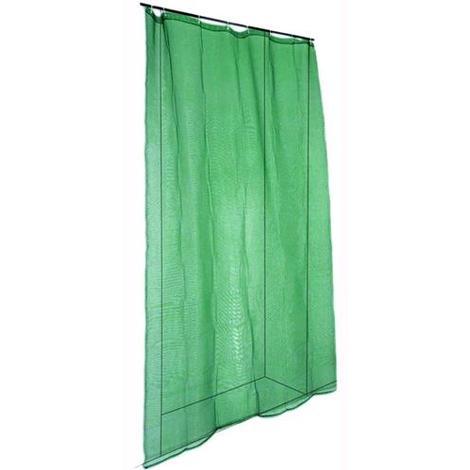Tende A Zanzariera.Zanzariera A Tenda Blinky Per Porte Verde Mt 1 5x2 5