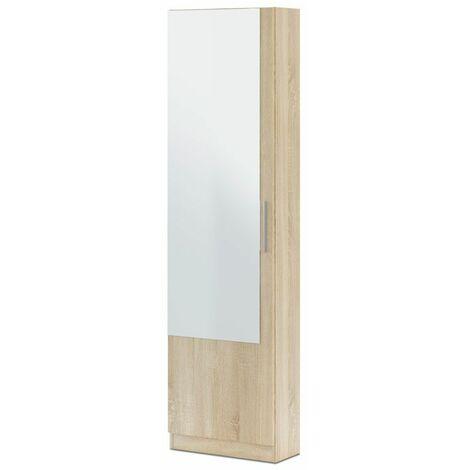 Zapatero Kristal 1 puerta