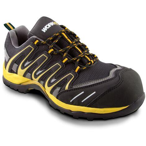 Zapato de seguridad Trail amarillo S1P -Disponible en varias versiones