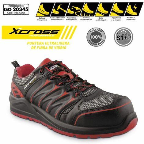 Zapato de seguridad ultraligero Xcross S1P fibra de vidrio -Disponible en varias versiones