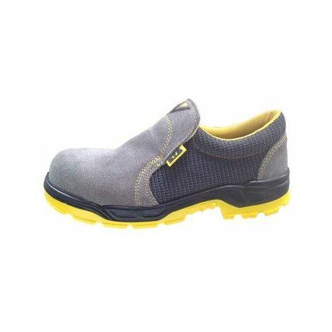 Zapato Seguridad T39 S1P-Src Pu/Pl No Met Running Piel Gr Nivel