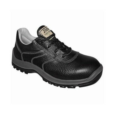 Zapato Seguridad T43 S3 Pu-Pu Puntera Plastico Metal Zion Sferro Piel Ne Panter