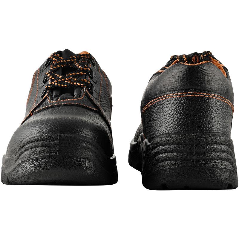 05b1a23d Zapatos de seguridad - 41 - S3 - hidrofugados - con puntera de acero -  Zapatos cómodos para trabajar - Calzado de seguridad - negro / naranja -  56968852