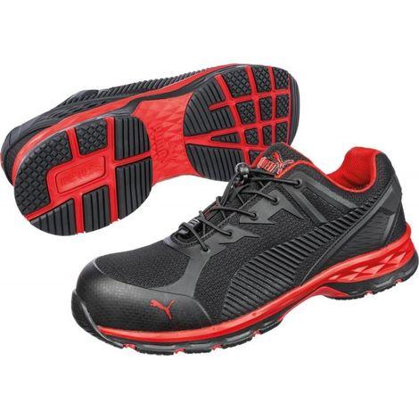 Zapatos de seguridad 643890 S1P ESD negro/rojo Talla 43 Puma