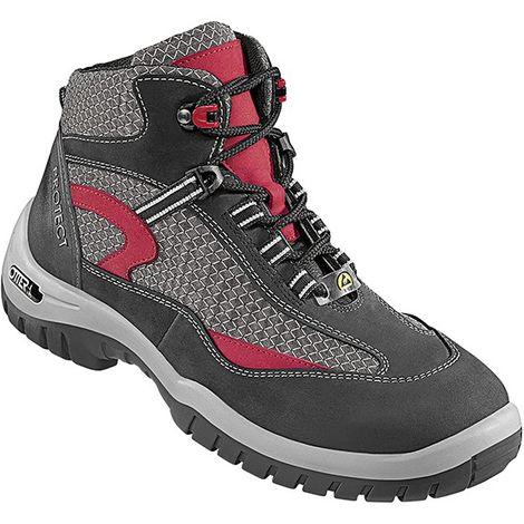 Zapatos de Seguridad altos ESD , S2, HRO,Talla 43