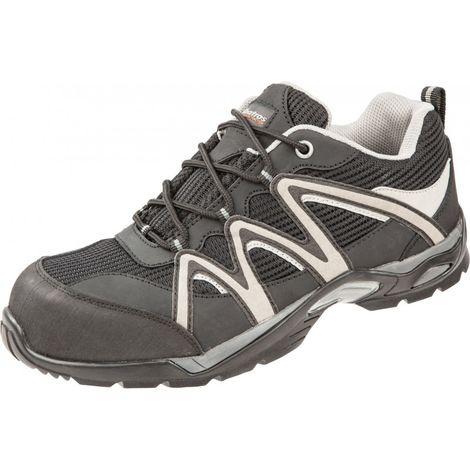 Zapatos de seguridad bajos S1P,Talla 43