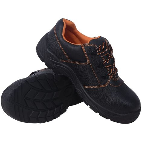Zapatos de seguridad Negros Talla 42 Cuero