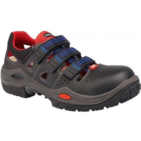 Zapatos de seguridad tipo Sandalia 3800R Respiro S1 SRB Talla 43