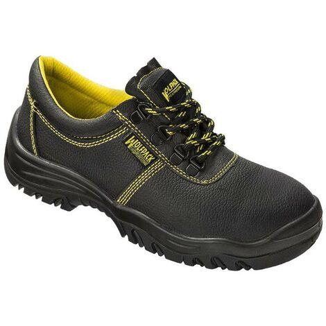 Zapatos Seguridad Piel Negra Wolfpack N