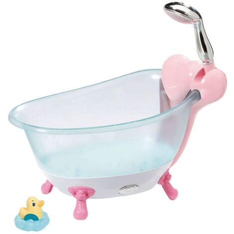 Zapf Creation Doll Toy Bath Baby Born Pink and Blue