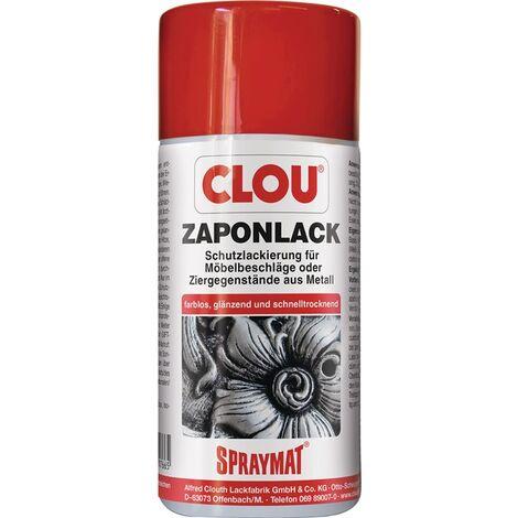 Zaponlack (Metallfirnis) SPRAYMAT farblos glänzend 300 ml Spraydose CLOU