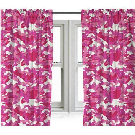 Zappi Camo Drop Curtains (Pair)