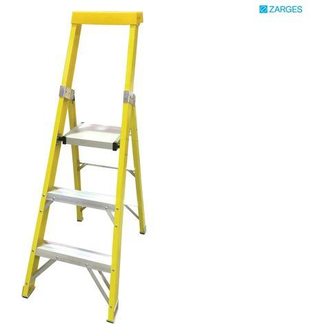Zarges EN131 Professional GRP Platform Step Ladders